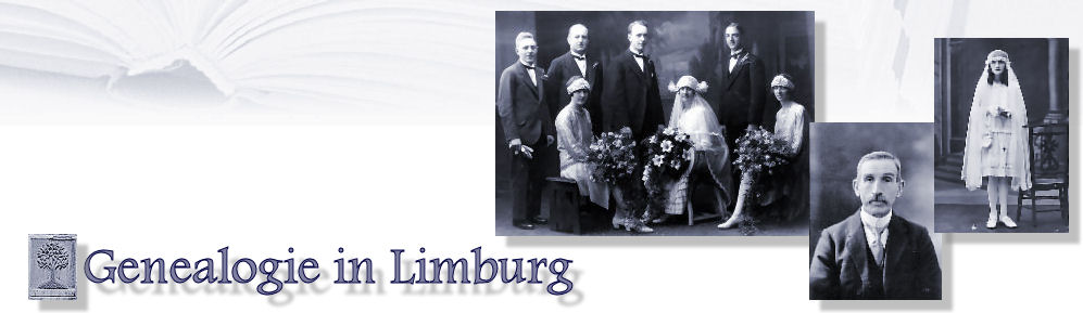 Logo Genealogie in Limburg